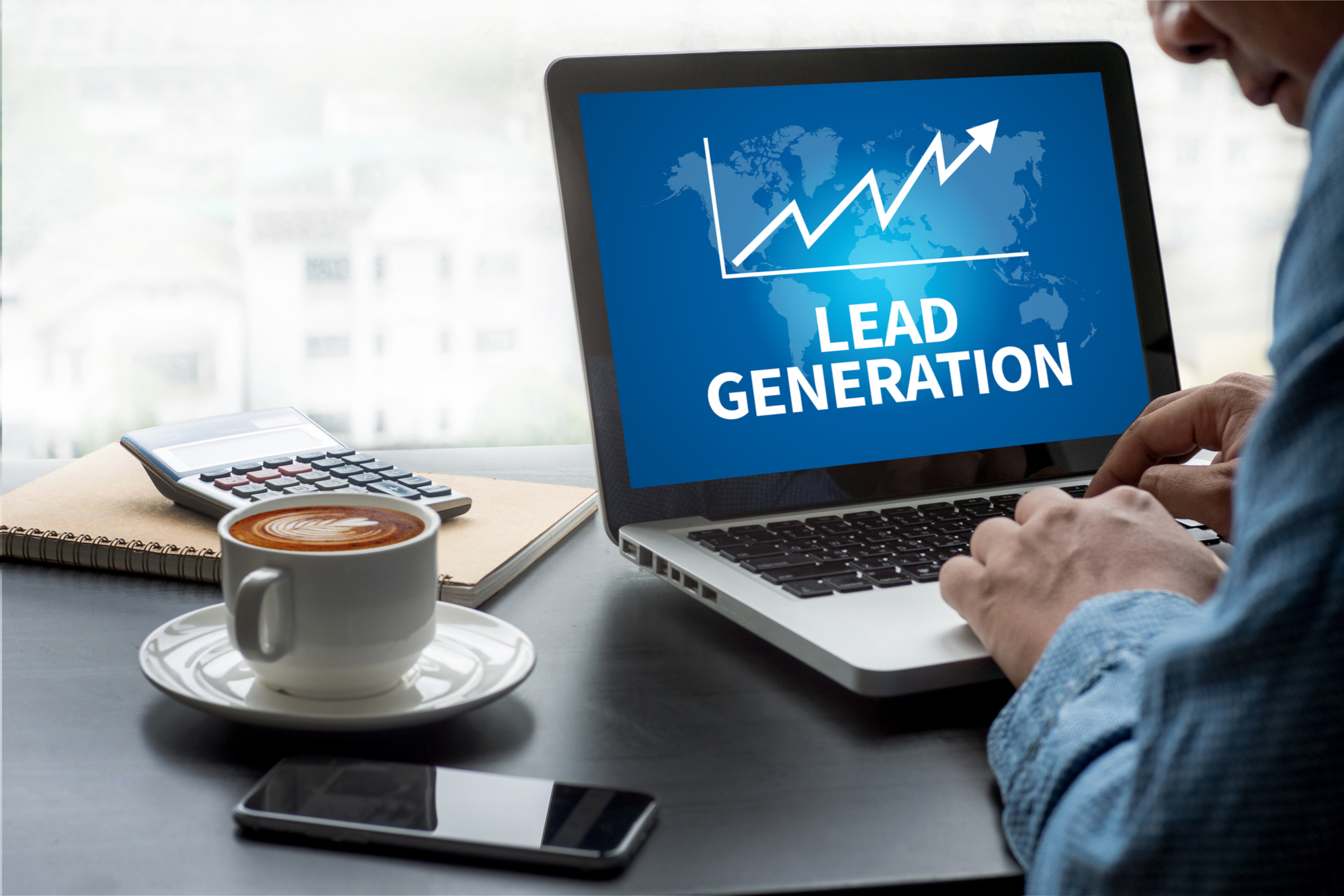 real estate website lead generation